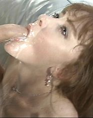 MILF almost chokes on the wonder load she gets