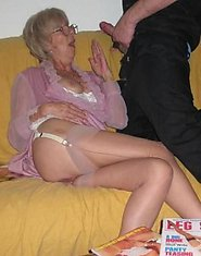 big black cock fucks old granny