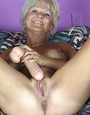 One dildo is not enough for this mature slut