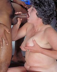 old granny fuck black guy
